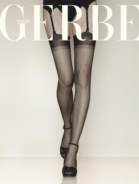 Gerbe - Classic nylon calze autoreggenti conout elastane Voile Gerlon 15 den