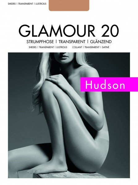 Hudson - puro, shiny collant Glamour 20