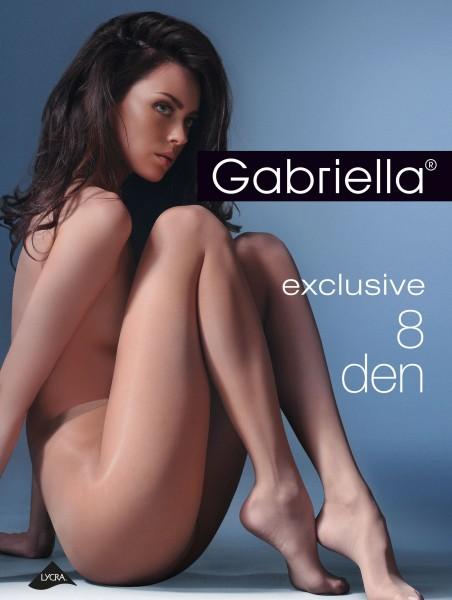 Gabriella - Ultra puro collant Exclusive, 8 DEN